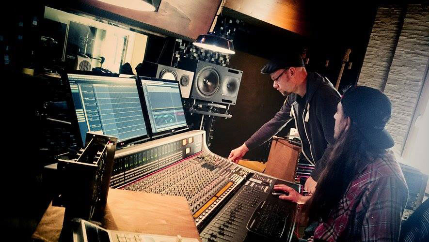 Mixing, Josh & the Blackbirds, Album